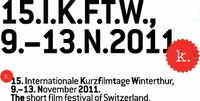 15. Internationale Kurzfilmtage Winterthur